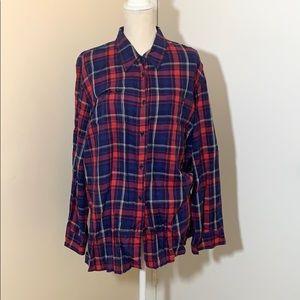 Ralph Lauren women's long sleeve flannel